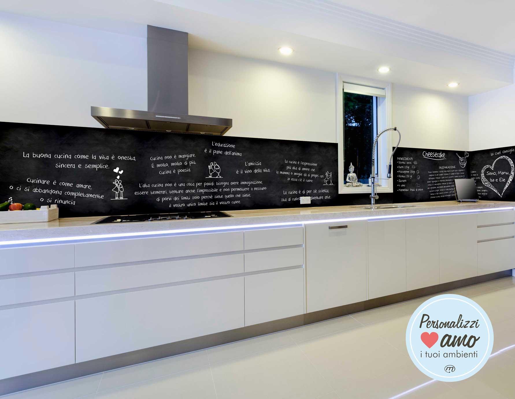 Pannelli in dibond stampa su alluminio - Pannelli da cucina ...